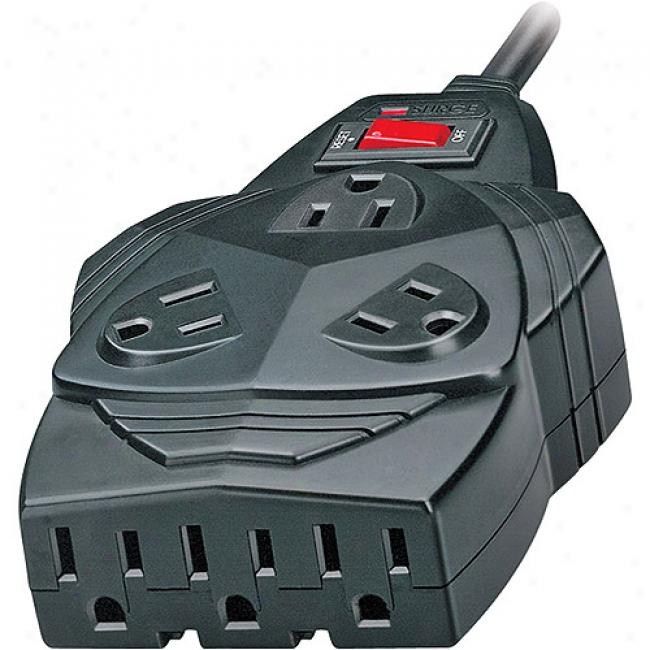 Fellowes Mighty 8 Outlet Surge With Modem/phone Line