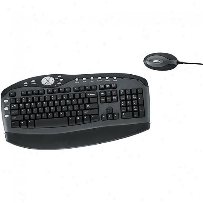 Fellowes Wireless Keyboard W/ Optical Mouse