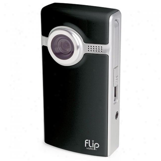 Flip Video F230 Black Ultra 30-minute Digital Camcorder