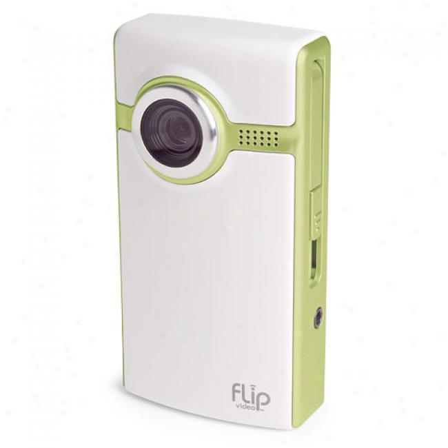 Flip Video F230 Green Ultra 30-minute Digital Camcorder