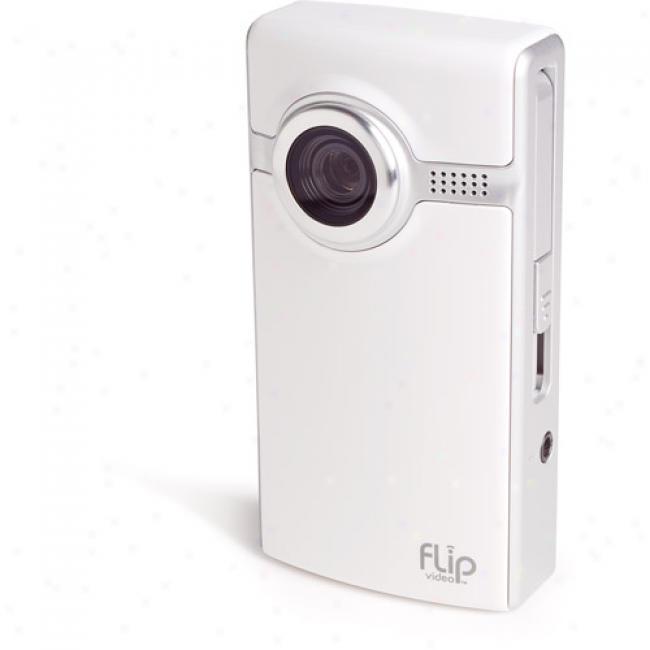 Flil Video F230 White Ultra 30-minute Digital Camcorder