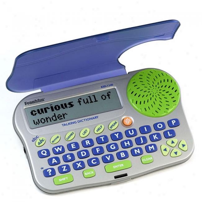 Franklin Children's Talking Dictionary & Spell Corrector, Kid1240