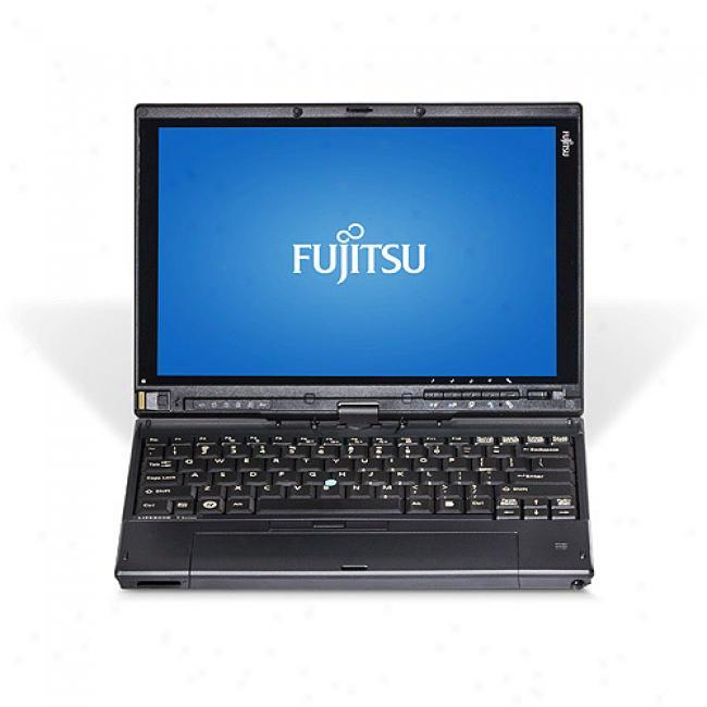 Fujitsu 12.1'' Lifebook T2020 Laptop Pc W/ Intel Heart 2 Duo Pdocessor Su9300