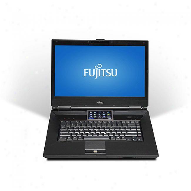 Fujitsu 16'' Lifebook N7010 Laptop Pc W/ Intel Core 2 Duo Processor P8400