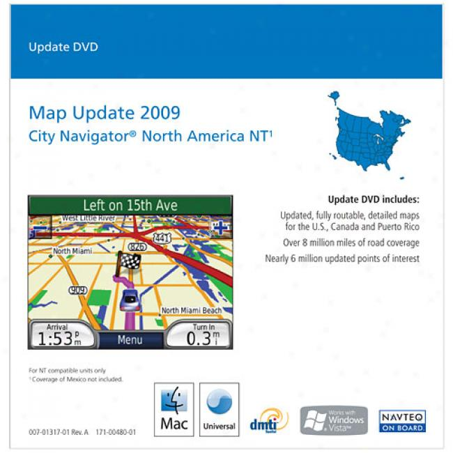 Garmin 2009 North America Map Update, 010-10989-01