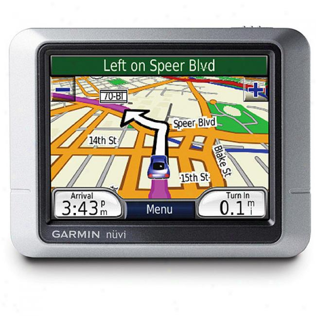 Garmin Nuvi 200 Portable Gps With 3.5