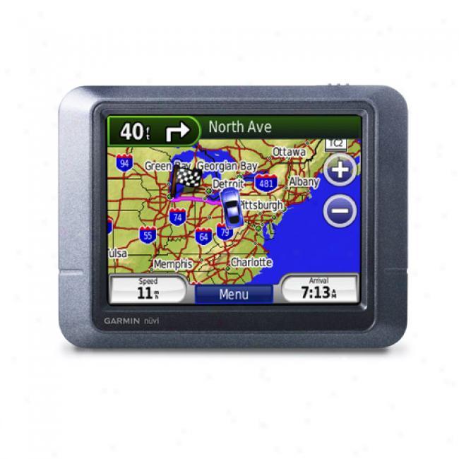 Garmin Nuvi 205 Portable Gps W/ 3.5
