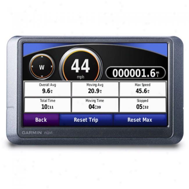 Garmin Nuvi 205w Portable Gps W/ 4.3