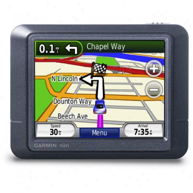 Garmin Nuvi 255 Portable Gps W/ 3.5