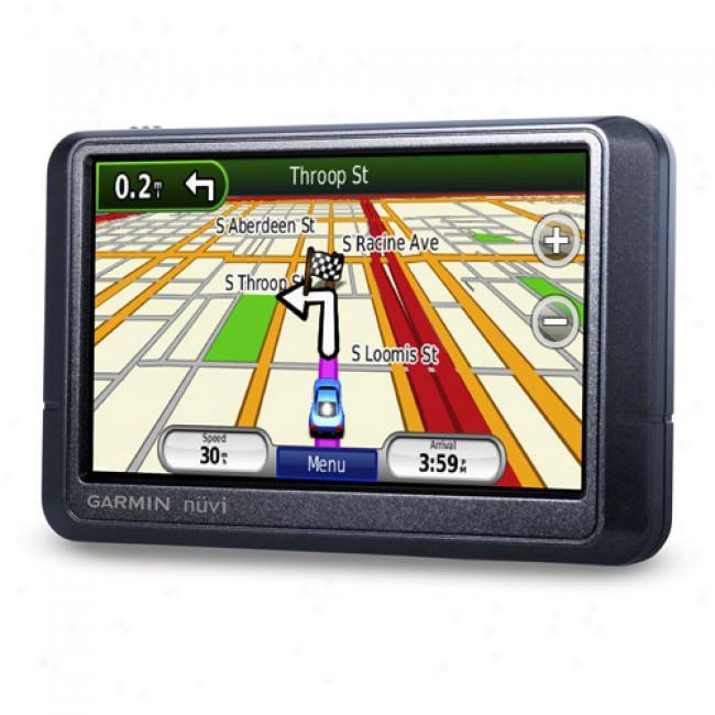Garmin Njvi 255w Portable Gps W/ 4.3