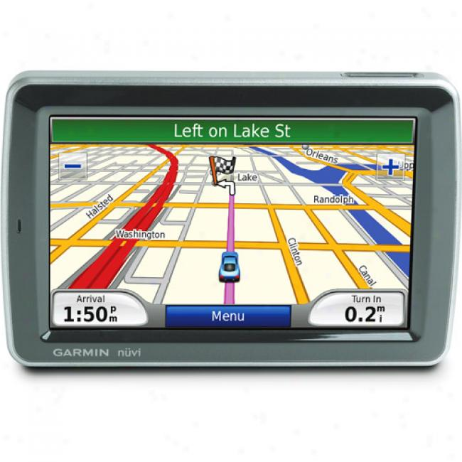 Garmin Nuvi 5000 Gps With 5.2