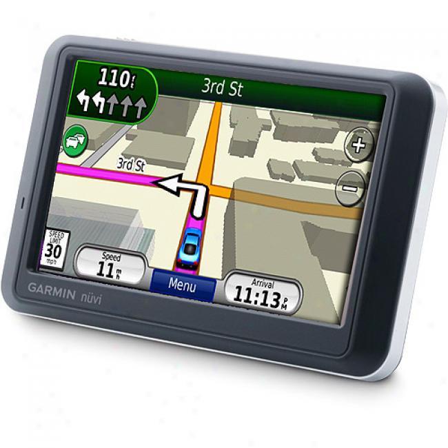 Garmin Nuvi 755t Gps Navigation W/ 4.3