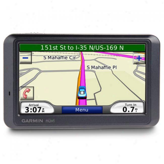 Garmin Nuvi 760 Portable Gps W/ 4.3