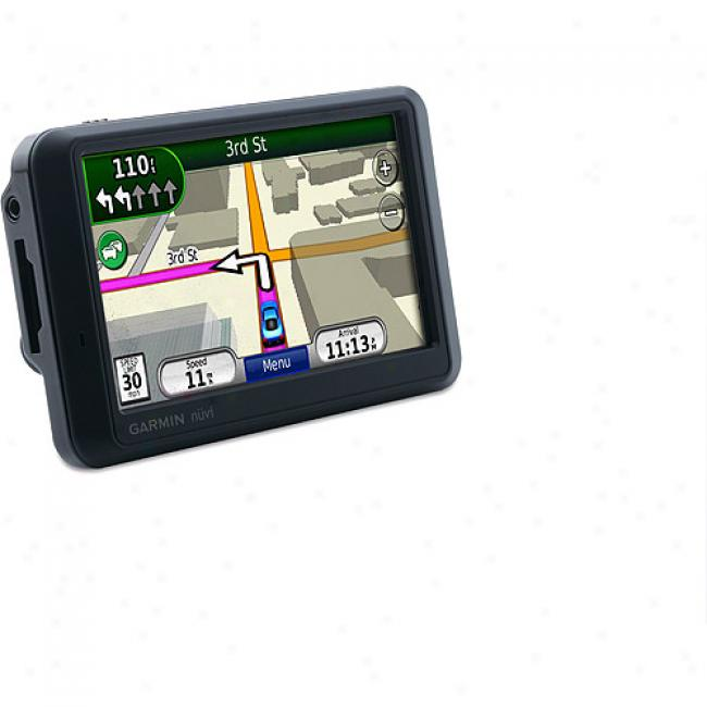 Garmin Nuvi 765t Gps Navigation W/ 4.3