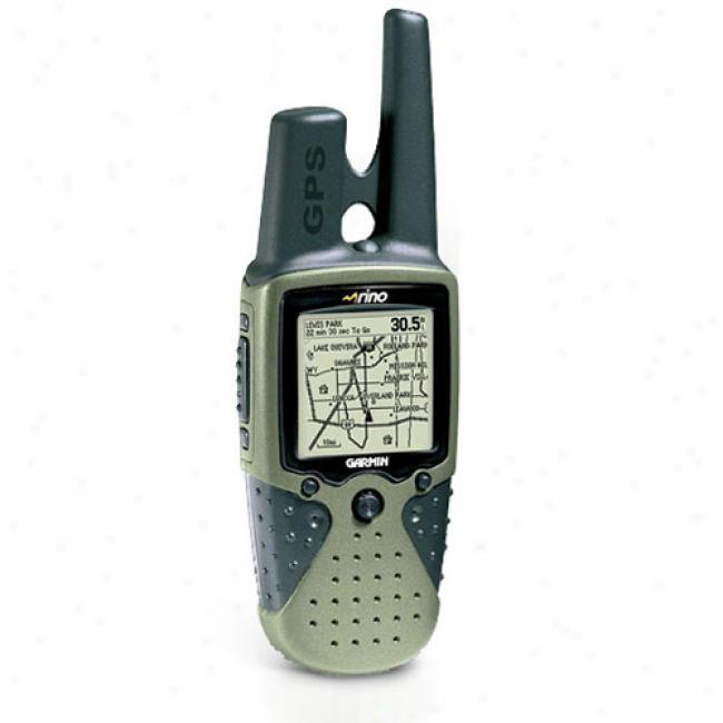 Garmin Rino 120 Gps Uni,t 2-way Radio