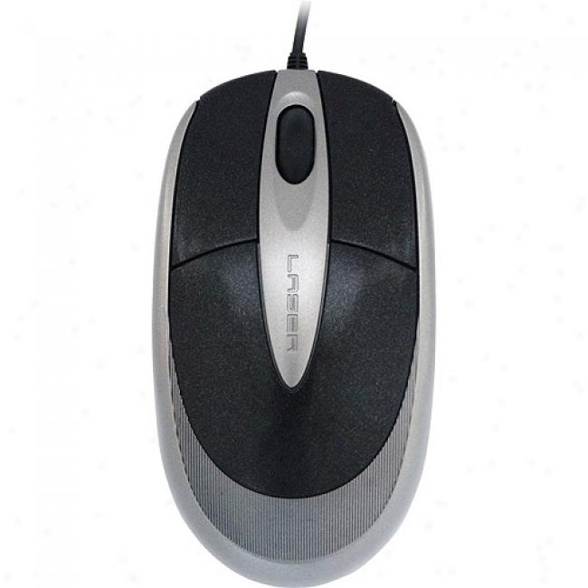 Ge Usb Wired 1600dpi Laser Mouse