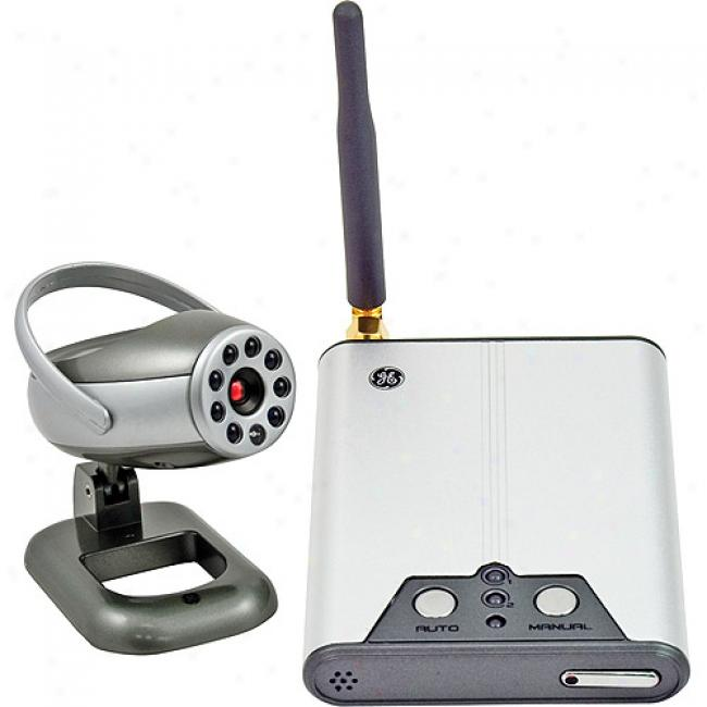 Ge Wireless Color Receiver With Camera
