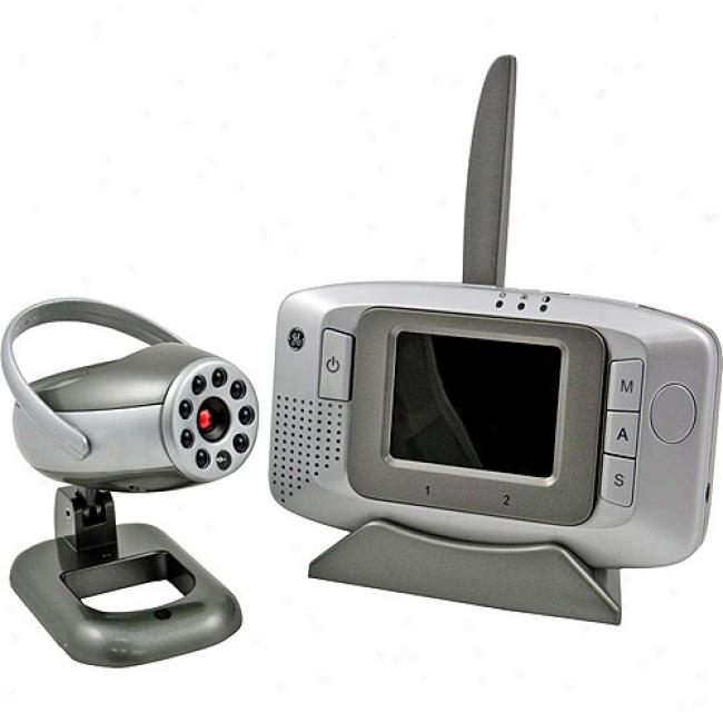 Ge Wireless Hand-held Lcd Monitor With Camera