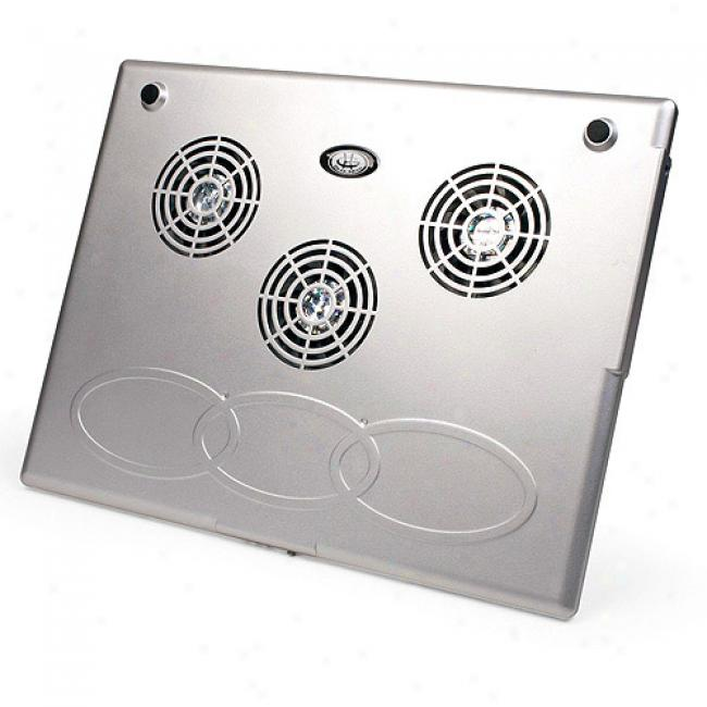 Gear Head Tri-cool Laptop Cooling Fan, Cf3500u