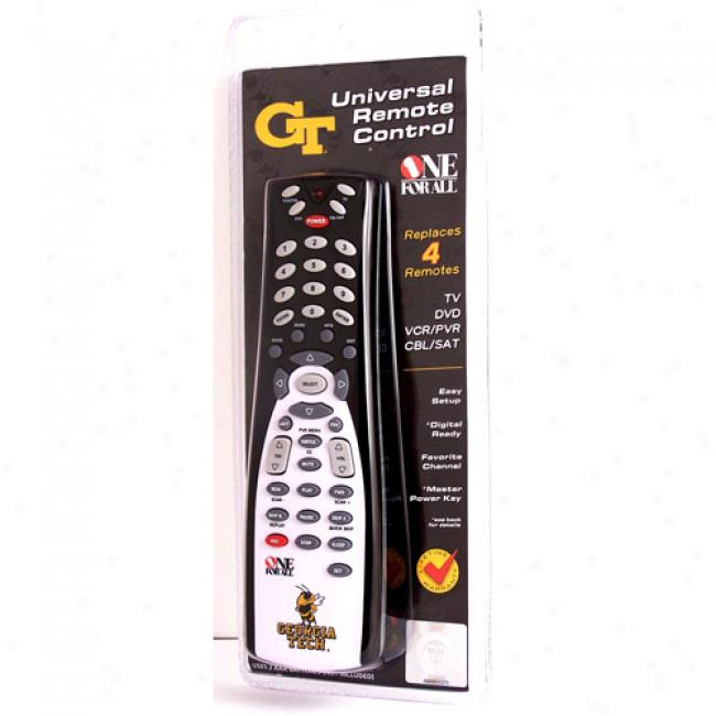 Georgia Tech Universal Remote Control
