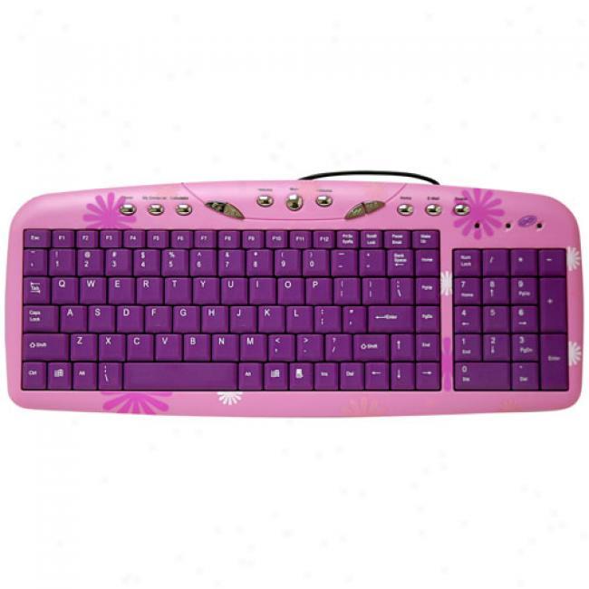Girl Gear Computer Keyboard