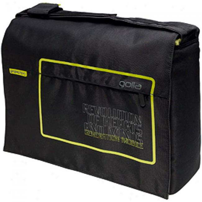 Golla Meteo 15.4'' Laptop Computer Bag, Black