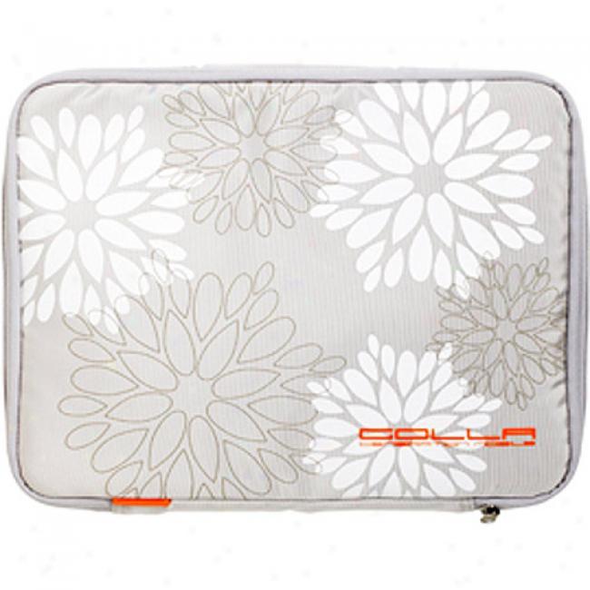 Golla Picnic 13'' Laptop Computer Sleeve, Light Gray
