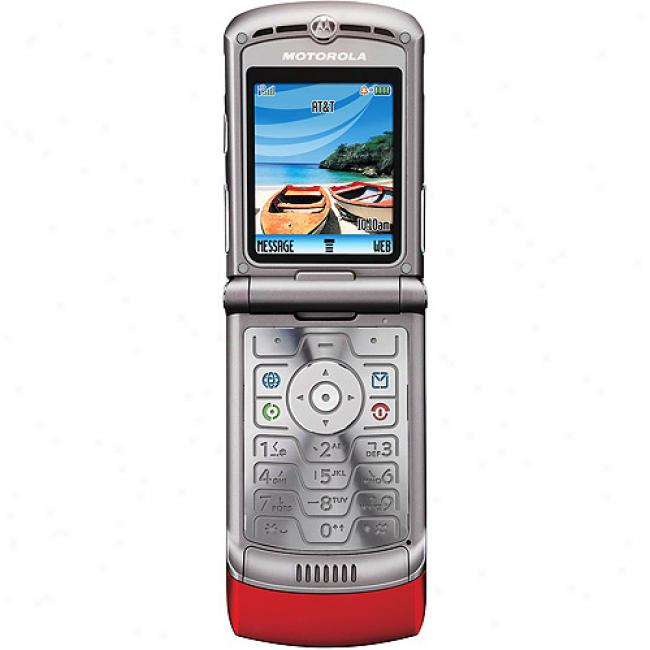 Gophone From At&t Motorola V3 Red