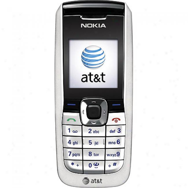Gophone From At&t Nokia 2610 Silver