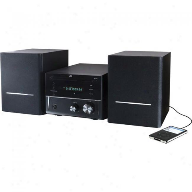 Gpx Micro Stereo System W/ Dvd/cd Player, Hmd8017dt