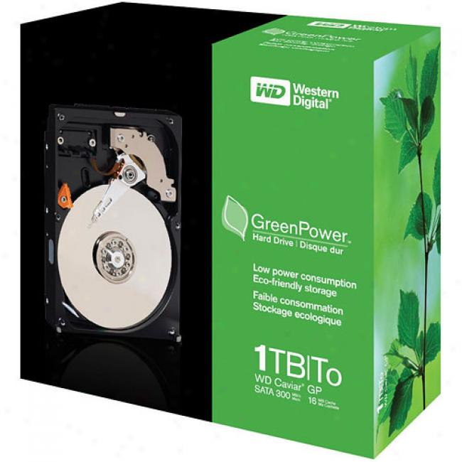 Green Power Western Digital Caviar 1.0 Tb Sata Internal 3.5