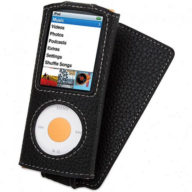 Griffin Elan Convertible Case For Ipod Nano 4g, Black
