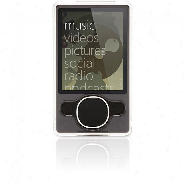Griffin Iclear Case In favor of Zune 80g - Crystal-clear Hard-shell Case