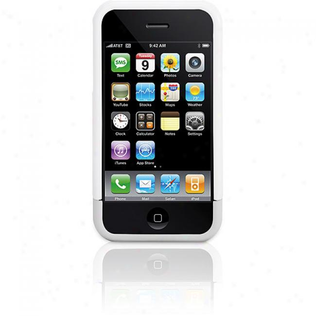Griffin Technology Nu Fork Iphone 3g Case, White