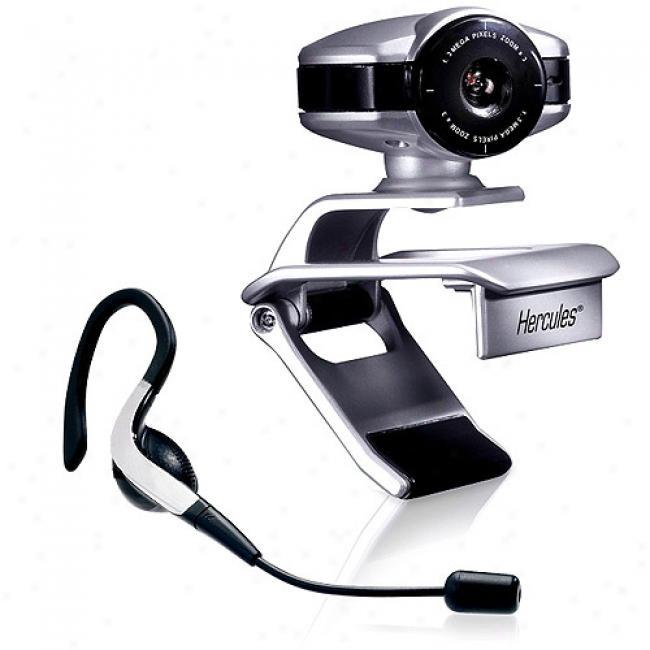 Hercules Dualpix Chat And Show Webcam