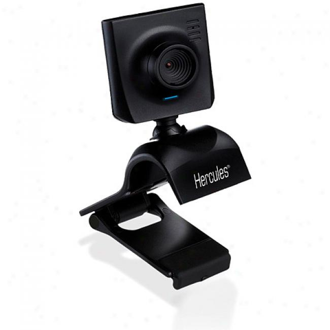 Hercules Webcam With Vga Sensor And Integrated Microphone