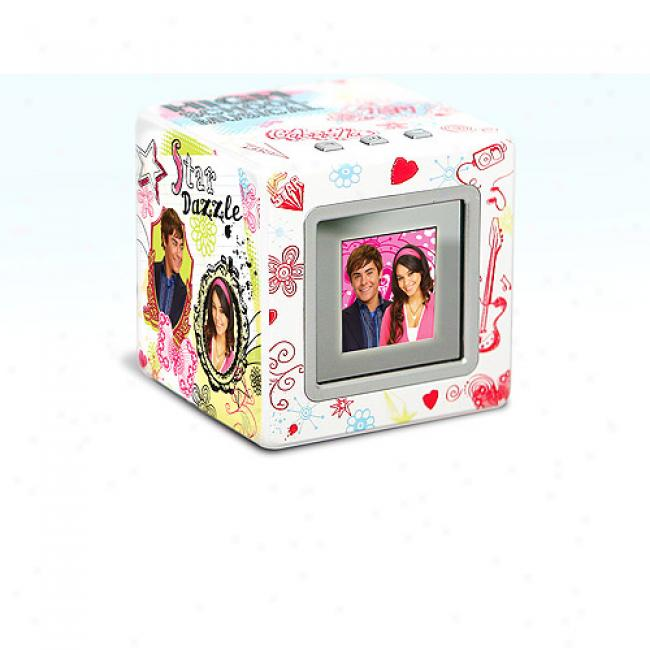 High Schol Musical Digital Photo Cube W/ 1.5