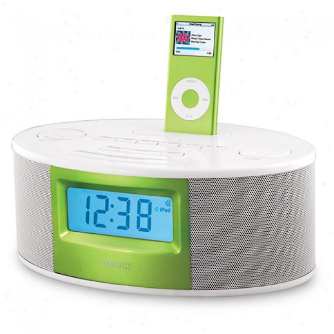 Homedics Isoundspa Fusion Clock Radio With Ipod Docking Station
