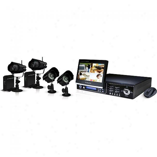 Homeland Security Digital Wireless Lcd Fold Out Dvr