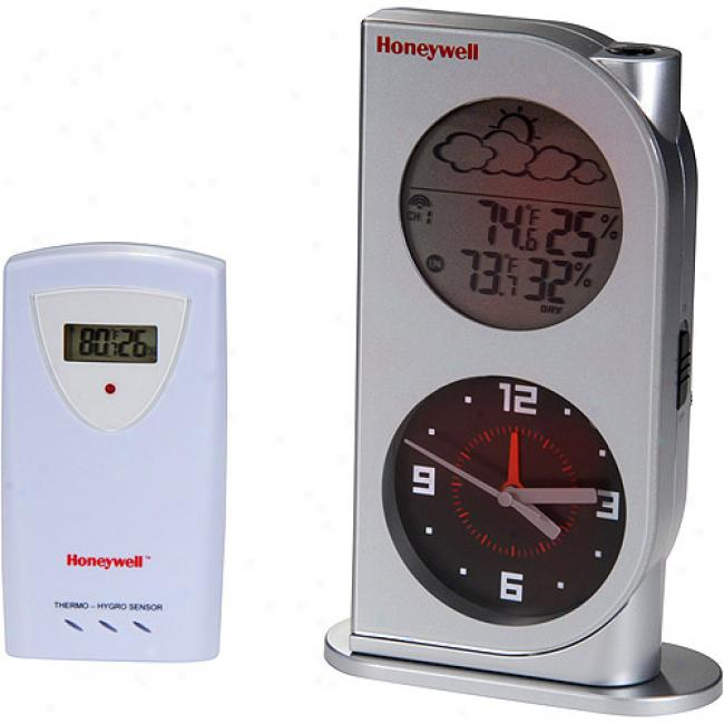 Honeywell Wireless Digital Weather Station In the opinion of Analog Clock