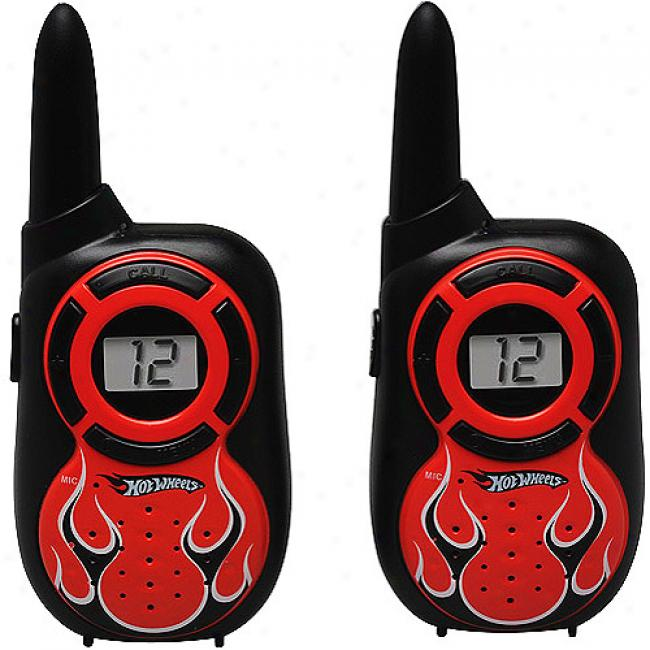 Hot Wheels Turbo Talkers Walkie Talkies