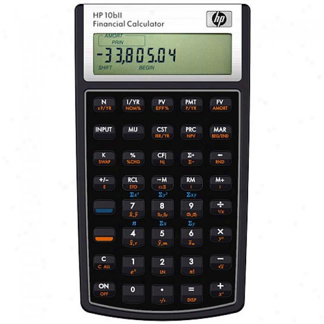 Hp 10bii Financial Calculator, Hp Calculator