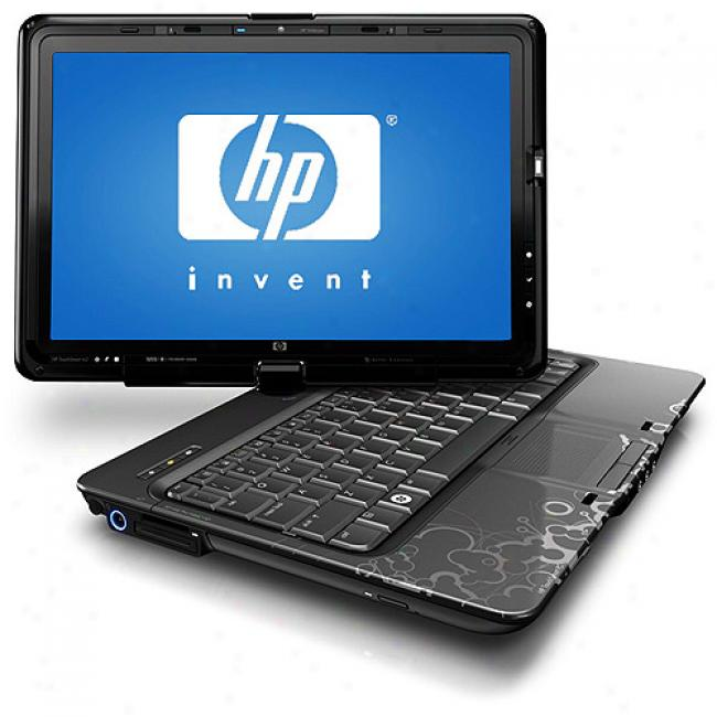 Hp 12.1'' Touchsmart Tx2-1020us Laptop Pc W/ Amd Turion X2 Ultra Dual-core Processor Zm-82
