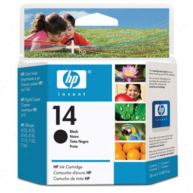 Hp 14 Ink Cartridge, Black,C 5011dn