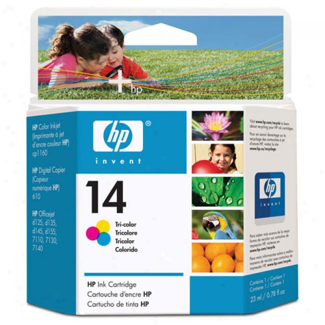Hp 14 Ink Cartridgw, Tri-color