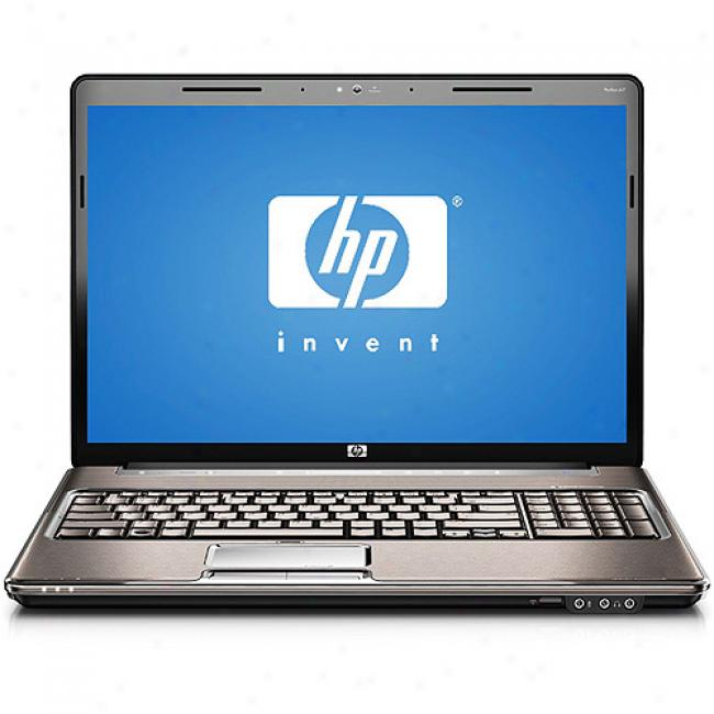 Hp 17'' Pavilion Dv7-1240u Laptop Pc W/ Amd Turion X2 Dual-core Processor Rmm-72