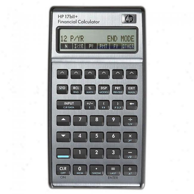 Hp 17bii+ Financial Calculator, Real-estate, Professional, Finance