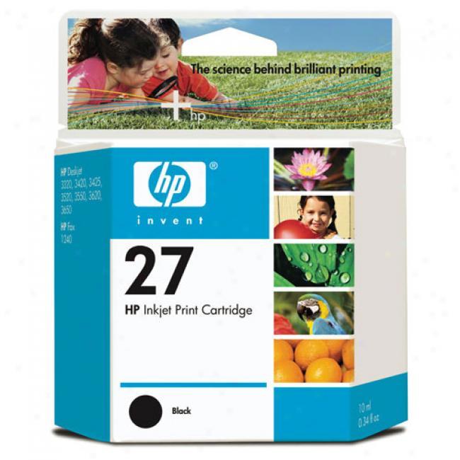 Hp 27 Black Inkjet Print Cartridge
