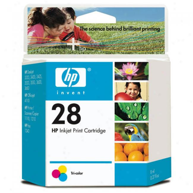 Hp 28 Tri-color Inkjet Print Cartridge