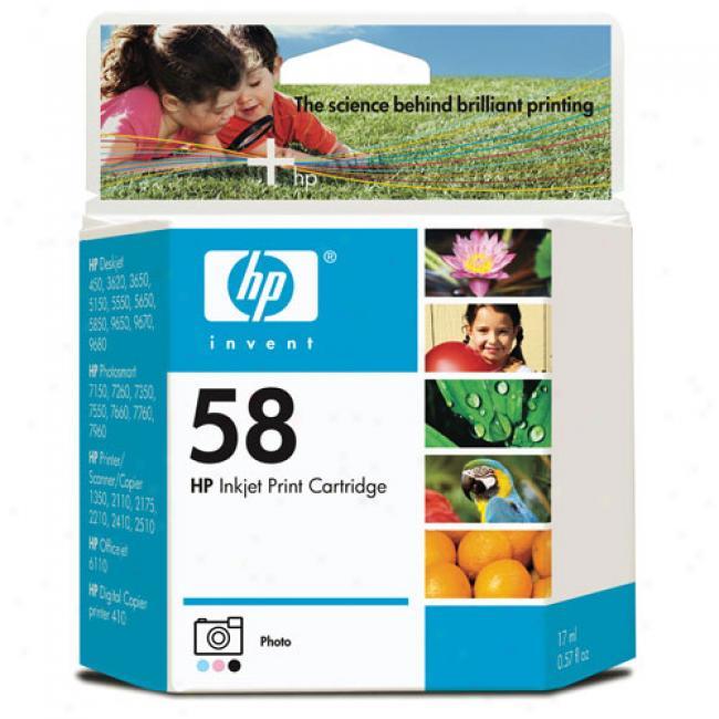 Hp # 58 Photo Inkjet Impress Cartridge